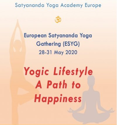Европейска среща на Сатянанда йога 28-31 май 2020 г.